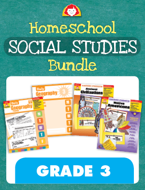 Picture of Homeschool Social Studies Bundle, Grade 3