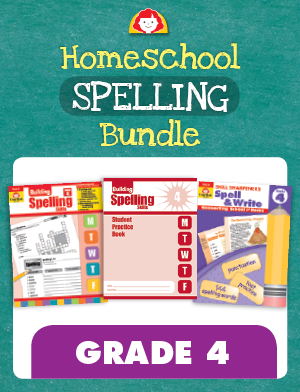 Picture of Homeschool Spelling Bundle, Grade 4