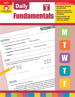 Picture of Daily Fundamentals, Grade 3 - Teacher's Edition