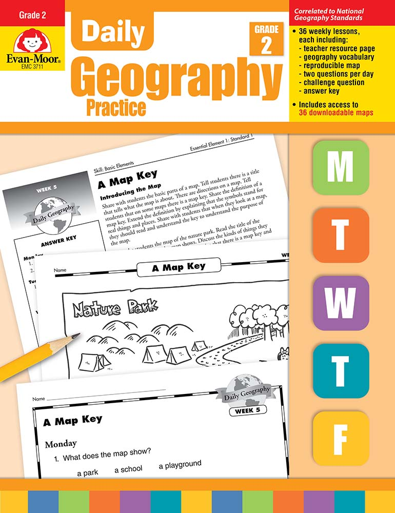 Daily geography practice grade 2 teachers edition print fandeluxe Images