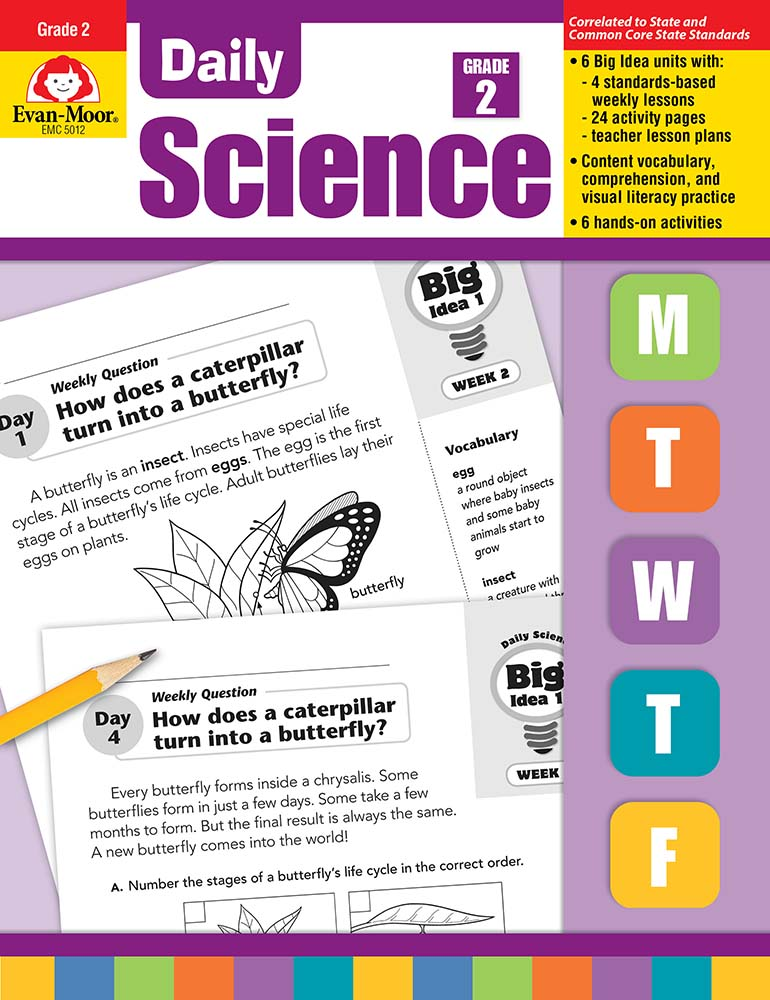 Daily Science, Grade 2 - Teacher's Edition, Print