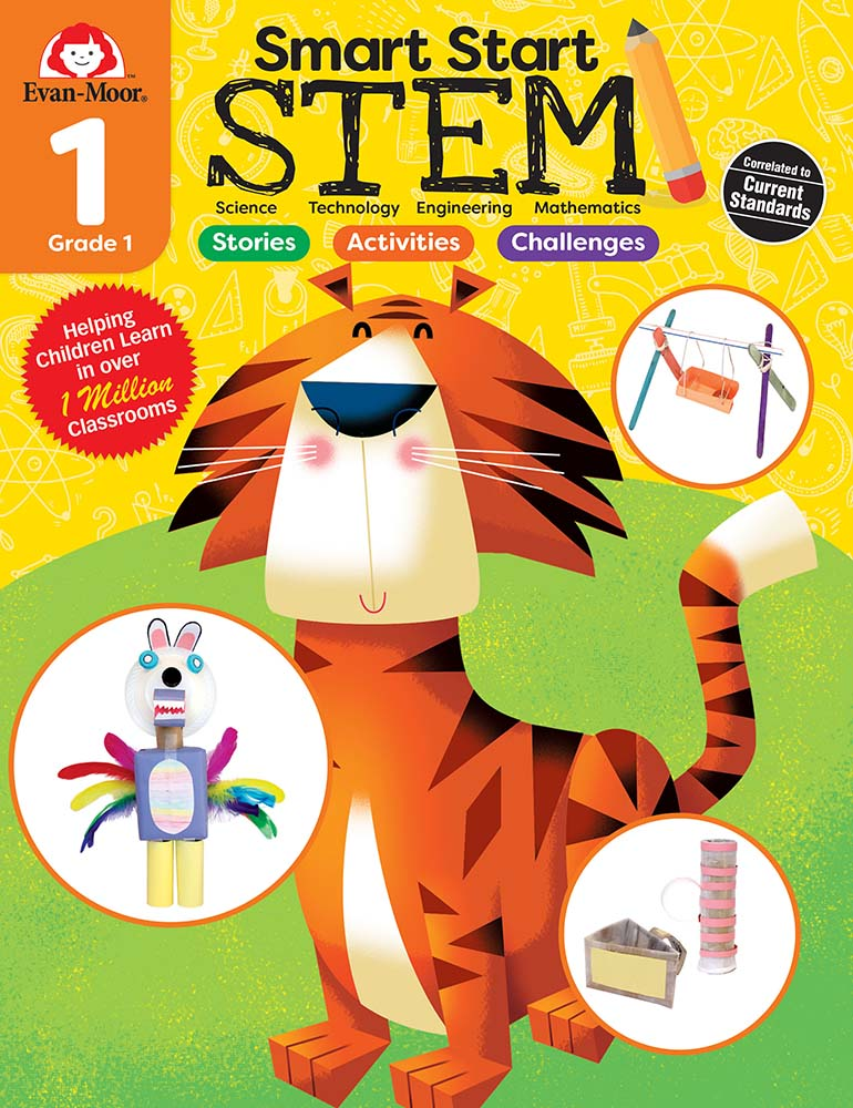 Smart Start STEM First Grade Activity Book – Evan-Moor