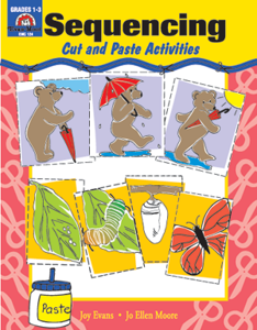 Picture of Sequencing: Cut and Paste Activities, Grades K-1 - Teacher Reproducibles, Print