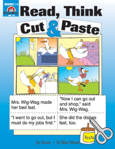 Picture of Sequencing, Read, Think, Cut & Paste - Teacher Reproducibles, Print
