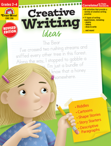 Picture of Creative Writing Ideas, Grades 2-4 - Teacher Resource, Print