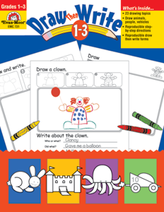 Picture of Draw…Then Write, Grades 1-3 - Teacher Resource, Print