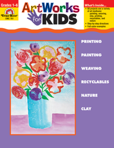 Picture of Artworks for Kids, Grades 1-6 - Teacher Reproducibles, Print
