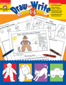 Picture of Draw…Then Write, Grades 4-6 - Teacher Resource, Print