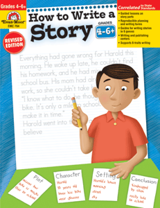 Picture of How to Write A Story, Grades 4-6 - Teacher Resource, Print