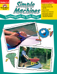 Picture of ScienceWorks for Kids: Simple Machines, Grades 1-3 - Teacher Reproducibles, Print