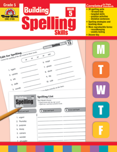 Picture of Building Spelling Skills, Grade 5 - Teacher's Edition, Print