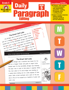 Picture of Daily Paragraph Editing, Grade 5 - Teacher's Edition, Print