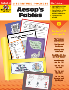 Picture of Literature Pockets: Aesop's Fables, Grades 2-3 - Teacher Reproducibles, Print