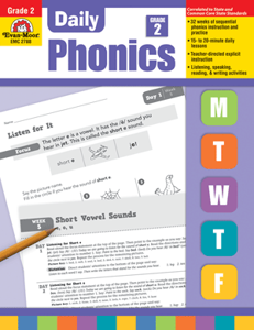 Picture of Daily Phonics, Grade 2 - Teacher's Edition, Print