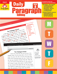 Picture of Daily Paragraph Editing, Grade 8 - Teacher's Edition, Print