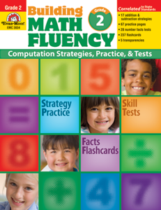 Picture of Building Math Fluency, Grade 2 - Teacher Reproducibles, Print