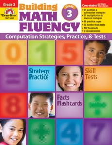 Picture of Building Math Fluency, Grade 3 - Teacher Reproducibles, Print