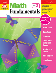 Picture of Math Fundamentals, Grade 3 - Teacher Reproducibles, Print