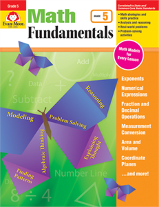 Picture of Math Fundamentals, Grade 5 - Teacher Reproducibles, Print