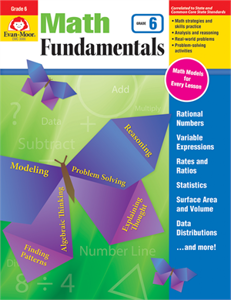 Picture of Math Fundamentals, Grade 6 - Teacher Reproducibles, Print
