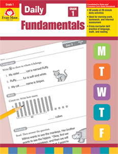 Picture of Daily Fundamentals, Grade 1 - Teacher's Edition, Print
