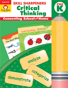 Picture of Skill Sharpeners: Critical Thinking, Grade PreK - Activity Book