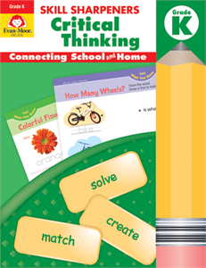 Picture of Skill Sharpeners: Critical Thinking, Grade K - Activity Book