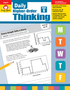 Picture of Daily Higher-Order Thinking, Grade 6 - Teacher's Edition, Print