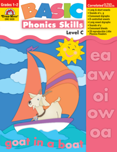 Picture of Basic Phonics Skills, Grades 1-2 (Level C) - Teacher Reproducibles, Print