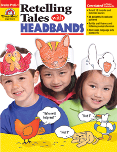 Picture of Retelling Tales with Headbands, Grades PreK-1 - Teacher Reproducibles, Print