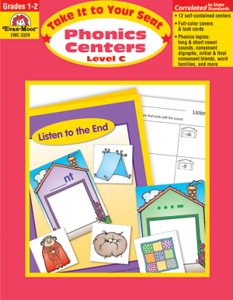 Picture of Take It to Your Seat: Phonics Centers, Grades 1-2 (Level C) - Teacher Resource, Print