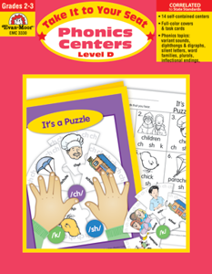 Picture of Take It to Your Seat: Phonics Centers, Grades 2-3 (Level D) - Teacher Resource, Print