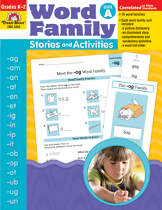 Picture of Word Family Stories and Activities, Grades K-2 (Level A) - Teacher Reproducibles, Print