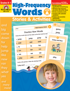 Picture of High-Frequency Words: Stories & Activities, Grades K-1 (Level A) - Teacher Reproducibles, Print
