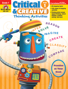 Picture of Critical and Creative Thinking Activities, Grade 1 - Teacher Reproducibles, Print