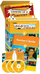 Picture of Hot Topics: High Interest Reading, Set C (Grades 4-8+)-Core Classroom Kit