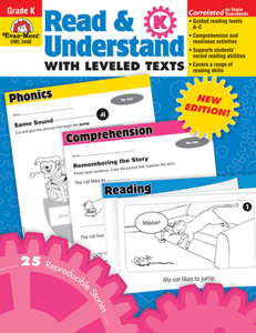 Picture of Read and Understand with Leveled Texts, Grade K - Teacher Reproducibles, Print