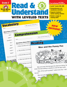 Picture of Read and Understand with Leveled Texts, Grade 2 - Teacher Reproducibles, Print