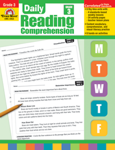 Picture of Daily Reading Comprehension, Grade 3 - Teacher's Edition, Print Legacy