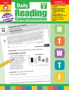 Picture of Daily Reading Comprehension, Grade 3 - Teacher's Edition, Print