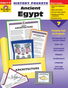 Picture of History Pockets: Ancient Egypt, Grades 4-6 - Teacher Reproducibles, Print