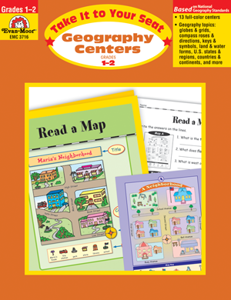 Picture of Take It to Your Seat: Geography Centers, Grades 1-2 - Teacher Resource, Print