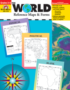 Picture of The World - Reference Maps & Forms, Grades 3-6 - Teacher Resource, Print