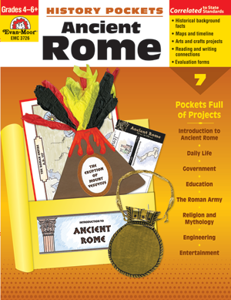 Picture of History Pockets: Ancient Rome, Grades 4-6 - Teacher Resource, Print