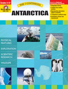 Picture of 7 Continents: Antarctica, Grades 4-6 - Teacher Reproducibles, Print