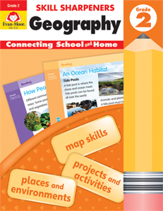 Picture of Skill Sharpeners: Geography, Grade 2 - Activity Book