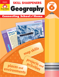 Picture of Skill Sharpeners: Geography, Grade 6 - Activity Book