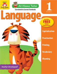 Picture of At-Home Tutor: Language, Grade 1 - Activity Book