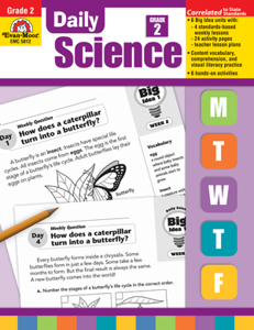 Picture of Daily Science, Grade 2 - Teacher's Edition, Print
