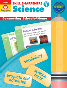 Picture of Skill Sharpeners Science Grade 1 - Activity Book